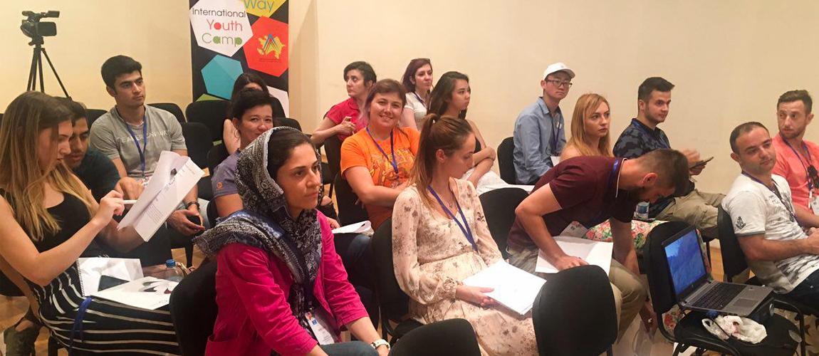 Peace Sprit Foundation attends Baku youth event
