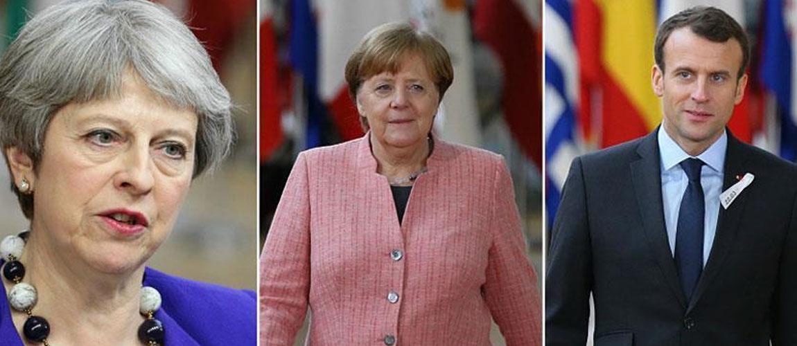 UK, France, Germany voice support for Iran nuclear deal