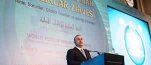 Turkish FM warns of anti-Muslim sentiment in the West