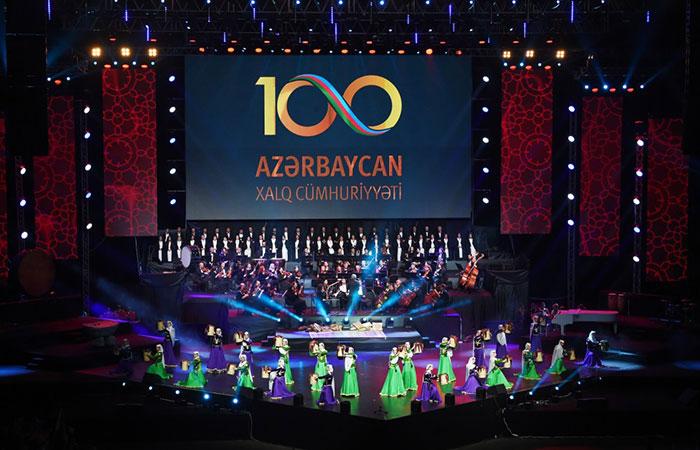 100th anniversary of the Azerbaijan Democratic Republic